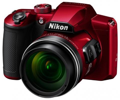 Фото - Фотоаппарат Nikon CoolPix B600 красный 16Mpix Zoom60x 3 1080p SDXC CMOS 1x2.3 IS opt 1minF VF HDMI/WiFi/EN-EL12 фотоаппарат