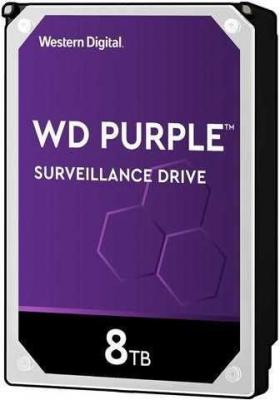 Жесткий диск WD Original SATA-III 8Tb WD82PURZ Purple (7200rpm) 256Mb 3.5