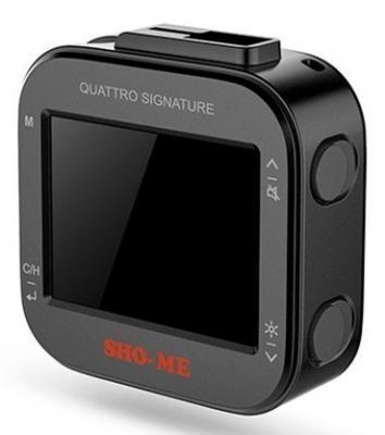 Радар-детектор Sho-Me Quattro Signature GPS приемник черный радар детектор inspector spirit air gps приемник черный