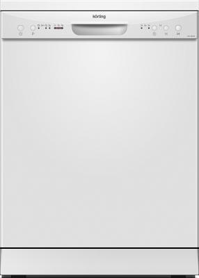 Посудомоечные машины Korting/ Отдельност., 60 см, А+/A/A, электронное управление, 4 программ, 12 компл., LED индикаторы, 1/2 закрузка, таймер 3/6/9 ч, белый