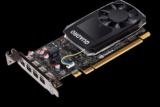 Видеокарта PNY Quadro P1000 VCQP1000-SB PCI-E 4096Mb GDDR5 128 Bit Bulk