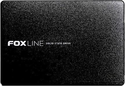 "Foxline 480GB SSD 2.5"" 3D TLC, plastic case  - купить со скидкой"