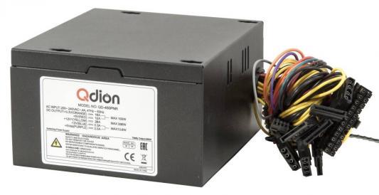 цена на Power Supply FSP QDION ATX 450W, 120mm, 5xSATA, 1xPCI-E, APFC, 80+