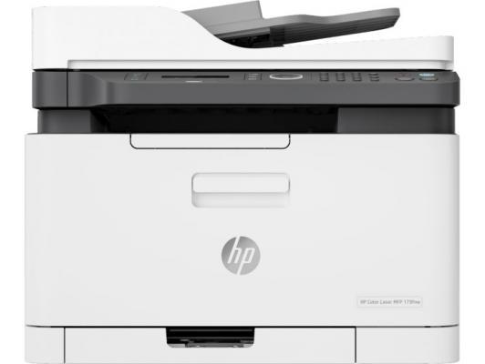 МФУ HP Color Laser 179fnw <4ZB97A> принтер/сканер/копир/факс, A4, 18/4 стр/мин. ADF, 128Мб, USB, LAN, WiFi (замена SS256M Samsung SL-C480FW) принтер samsung sl m2830dw