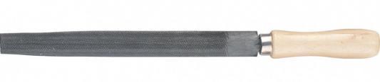 Напильник, 200 мм, полукруглый, деревянная ручка// Сибртех вилка посадочная kroft металл деревянная ручка