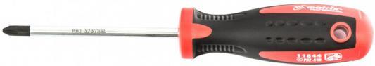 Отвертка Profi, Ph2 х 100 мм, S2, двухкомп. рукоятка// Matrix отвертка крестовая bahco ph2 х 100 мм