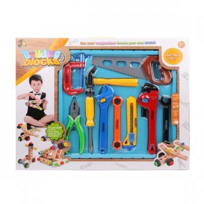 Купить Набор инструментов Наша Игрушка 808-9 10 предметов, для мальчика, Игровые наборы Юный мастер