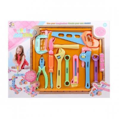 Купить Набор инструментов Наша Игрушка 108-9 10 предметов, для девочки, Игровые наборы Юный мастер
