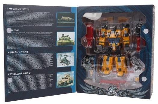 Купить Трансформер Наша Игрушка Робот-внедорожник 17 см, Игрушки-трансформеры