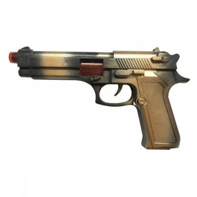 Купить Пистолет Наша Игрушка 526-18, разноцветный, 24х3х13 см, для мальчика, Игрушечное оружие