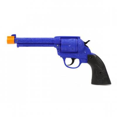 Купить Пистолет Наша Игрушка 506A синий, 28х3, 5х13 см, для мальчика, Игрушечное оружие