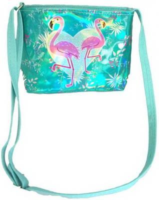 Сумочка Голограмма Фламинго, в ассорт., 20*16см, пакет сумочка фламинго