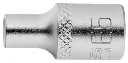 Головка торцевая 1/4, Е5, CrV// Stels головка торцевая 1 4 е6 crv stels