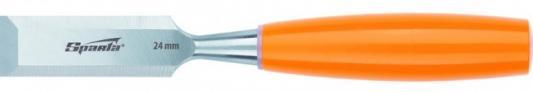 Фото - Стамеска, 24 мм, плоская, пластиковая рукоятка// Sparta стамеска 6 мм плоская пластиковая рукоятка sparta