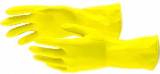 Перчатки хозяйственные латексные, S// Сибртех