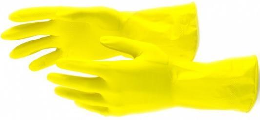 Перчатки хозяйственные латексные, M// Сибртех