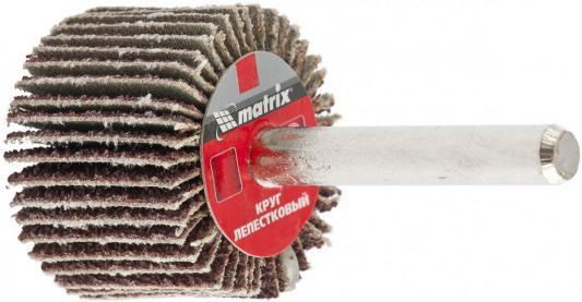 Круг лепестковый для дрели, 30 х 20 х 6 мм, P 120// Matrix круг лепестковый для дрели 60 х 30 х 6 мм р 150 matrix