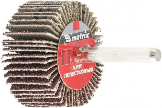Круг лепестковый для дрели, 60 х 20 х 6 мм, P 40// Matrix круг лепестковый для дрели 60 х 30 х 6 мм р 150 matrix