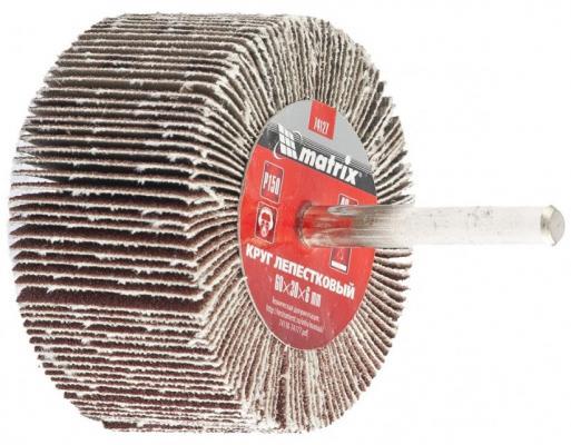Круг лепестковый для дрели, 60 х 30 х 6 мм, P 40// Matrix круг лепестковый для дрели 60 х 30 х 6 мм р 150 matrix