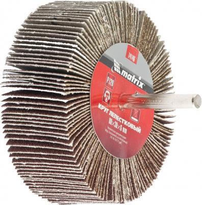 Круг лепестковый для дрели, 80 х 30 х 6 мм, P 120 <p class=