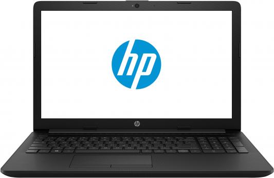 Ноутбук HP 15-db0376ur <5KN61EA> AMD A6-9225 (2.6)/4Gb/500Gb/15.6HD/AMD 520 2GB/noDVD/Win10 (Jet Black) ноутбук hp 15 da0039ur 4gk88ea intel n5000 4gb 500gb 15 6 fullhd win10 gold