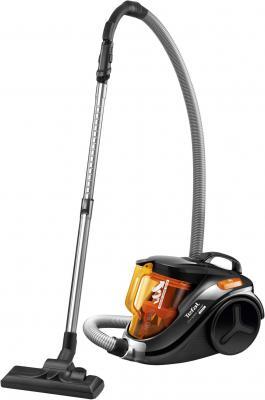 Пылесос Tefal TW3753EA сухая уборка оранжевый чёрный