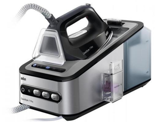 лучшая цена Парогенератор Braun IS 7156 BK CareStyle 7 2400Вт серый чёрный