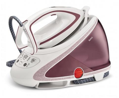 Парогенератор Tefal Pro Express Ultimate Care GV9562 2600Вт белый розовый