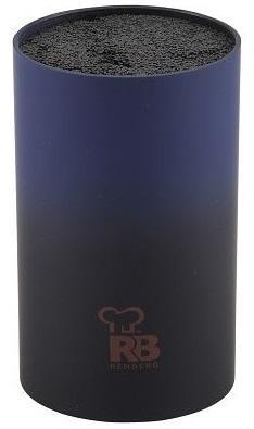 Подставка для ножей Bergner RB-2577 синий кофеварка bergner bg 0671 eu