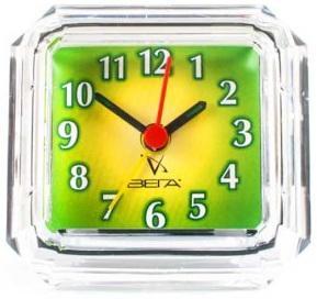 Будильник Вега Б2-008 Зеленая классика