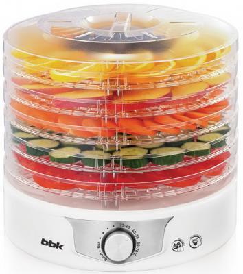 лучшая цена Сушилка для овощей и фруктов BBK BDH301M белый