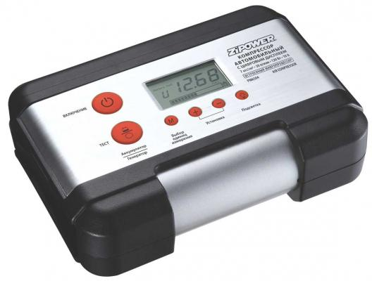 Компрессор автомобильный Zipower PM6504P компрессор автомобильный zipower 160w