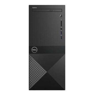 ПК Dell Vostro 3670 MT i3 8100 (3.6)/4Gb/1Tb 7.2k/GT710 2Gb/DVDRW/CR/Linux/GbitEth/WiFi/BT/290W/клавиатура/мышь/черный цены