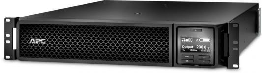 Источник бесперебойного питания APC Smart-UPS SRT SRT1500RMXLI-NC 1500Вт 1500ВА черный/черный источник бесперебойного питания eaton 9sx 1500i 1350вт 1500ва