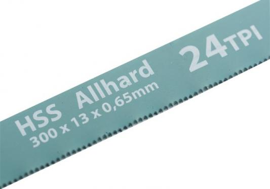 Полотна для ножовки по металлу, 300 мм, 24TPI, HSS, 2 шт.// Gross полотна для ножовки по металлу 300 мм шаг 1 мм 2 шт сибртех