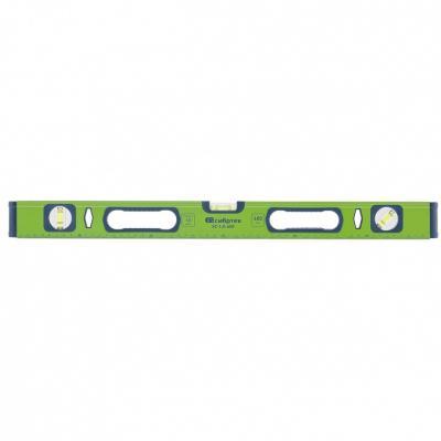 Уровень алюминиевый УС-1,0-600, фрезерованный, 3 глазка, рукоятки, 600 мм// Сибртех