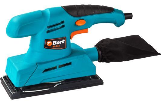 Вибро шлифовальная машина Bort BS-240 200Вт плоскошлифовальная машина bort bs 300 r