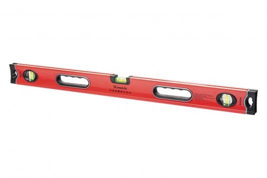 Уровень алюминиевый магнитный, 1800 мм, фрезерованный, 3 глазка (1 зеркальный), усиленный// Matrix уровень магнитный harden 580528 3 глазка 12 м