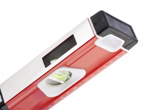 цена на Уровень алюминиевый, магнит., фрезеров., 3 глазка (1 зеркал.), 2 комп. рукоятки, 1200 мм// Matrix