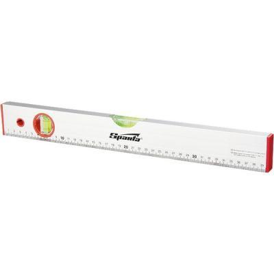 Уровень алюминиевый, 1200 мм, 2 глазка, линейка// Sparta цены онлайн