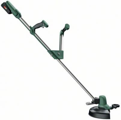 Триммер электрический Bosch UniversalGrassCut 18 Li аккум. разбор.штан. реж.эл.:леска газонокосилка bosch universalgrasscut 18 solo 06008c1d01