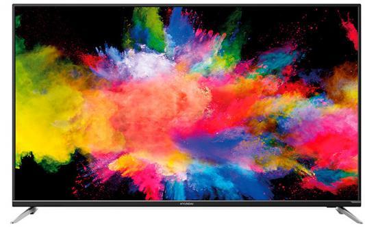 "Телевизор LED Hyundai 55"" H-LED55EU7000 черный/Ultra HD/60Hz/DVB-T2/DVB-C/DVB-S2/USB/WiFi/Smart TV (RUS) цена и фото"