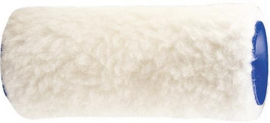 Картинка для Валик сменный из натурального меха , 150 мм, ворс 12 мм, D - 48 мм, D ручки - 6 мм Россия// Сибртех