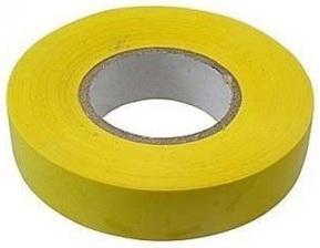 Изолента ПВХ, 19 мм х 20 м, желтая// Сибртех недорого