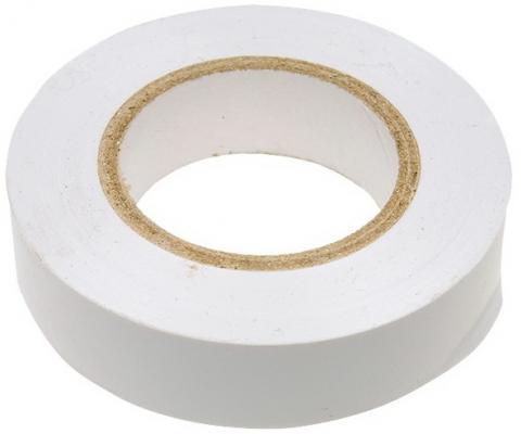 Изолента ПВХ, 19 мм х 20 м, белая// Сибртех недорого