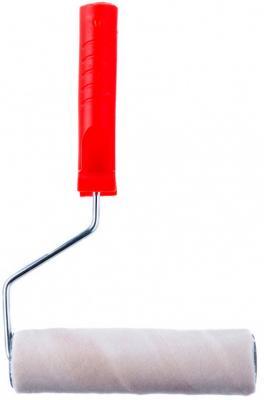 Валик ВЕЛЮР PRO, 180 мм, ворс 4 мм, D 40 мм, D ручки - 6мм, шерсть 50%, полиакрил 50%// MTX валик сменный велюр pro 180 мм ворс 4мм d 48мм d ручки 6мм шерсть 50% полиакрил 50% mtx