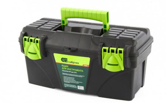 Ящик для инструмента, 410 х 215 х 197 мм (16), пластик, Россия// Сибртех ящик для инструмента fit 65572 пластиковый 16 41 х 22 х 19 5 см