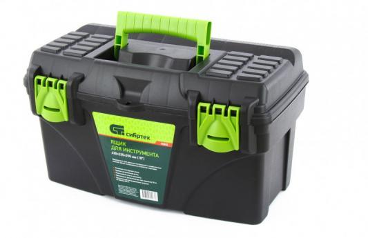 Ящик для инструмента, 430 х 235 х 250 мм (18), пластик/, Россия// Сибртех ящик для инструмента fit 65620 алюминиевый 43 х 31 х 13 см