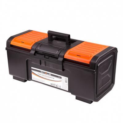 Ящик для инструментов, усиленный 24 // Stels ящик biber 65402 для инструментов 18
