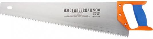 Ножовка по дереву, 400 мм, шаг зубьев 4 мм, пластиковая рукоятка (Ижевск) </div> <div class=